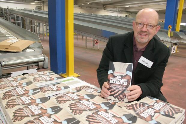 Carsten Steno ved præsentationen af sin bog: De Virkelige Helte